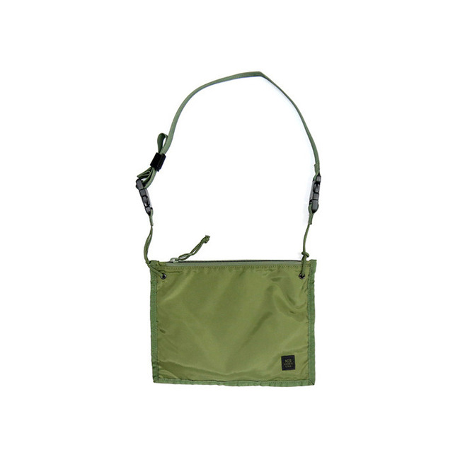 "2WAY POUCH ""OLIVE"""
