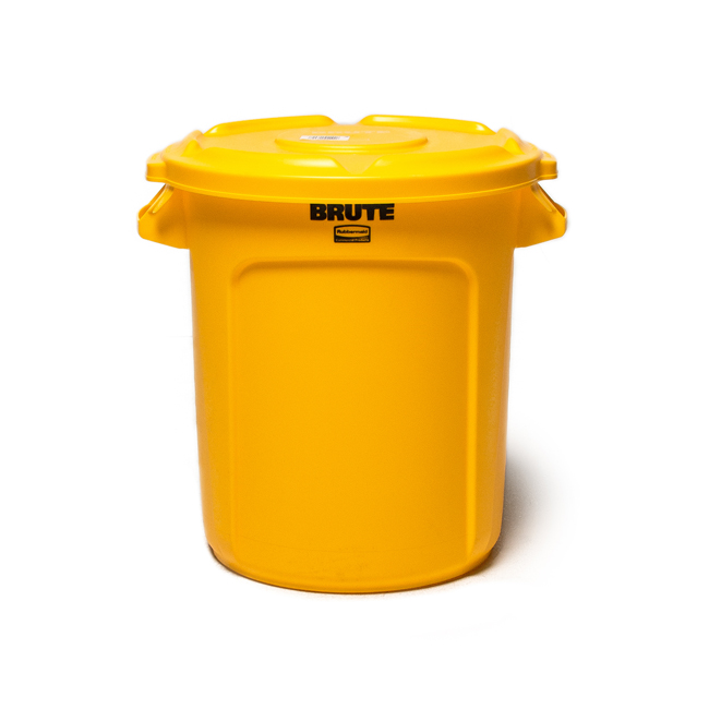 "BRUTE Container 37L ""YELLOW""  인테리어를 품은 다용도 바스켓"