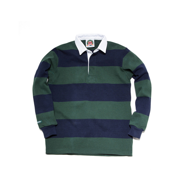 "12oz Classic Rugby Jerseys ""BOTTLE/NAVY""20% SALE ~4.30"