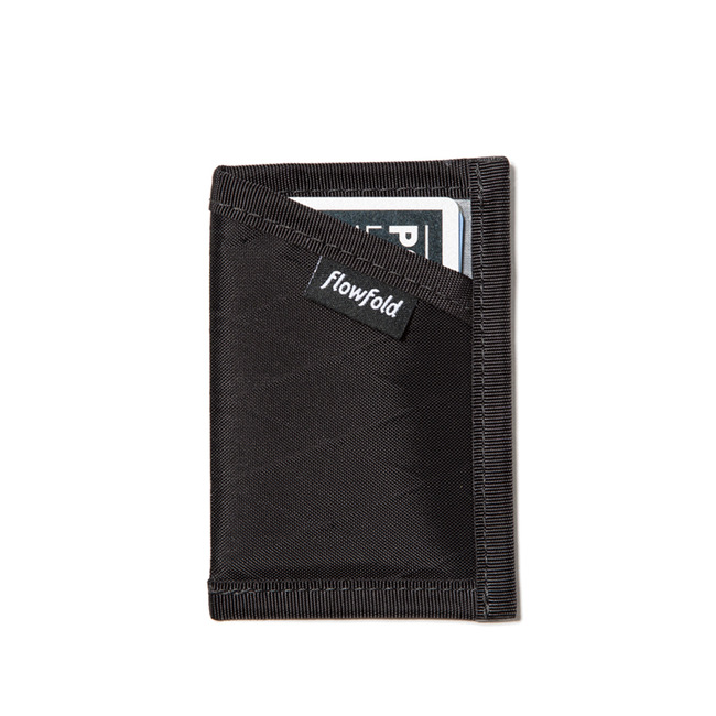 "Minimalist Card Holder LTD ""JET BLACK"""