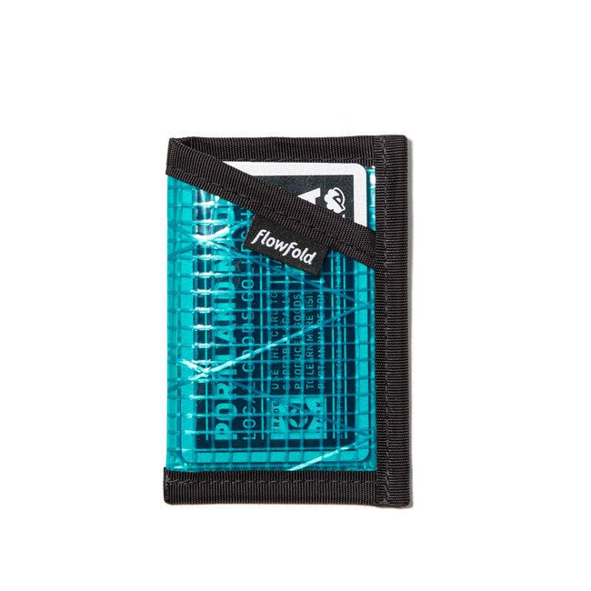 "Minimalist Card Holder ""CYAN"""