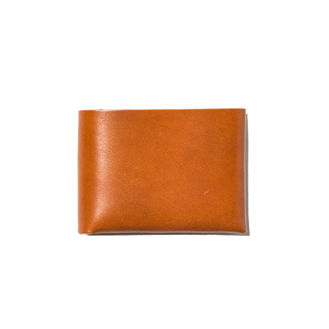 "Stitchless Wallet ""COGNAC""Re-Stock"