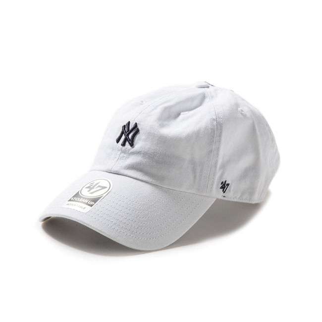 Yankees Base Runner 47 Clean Up - white