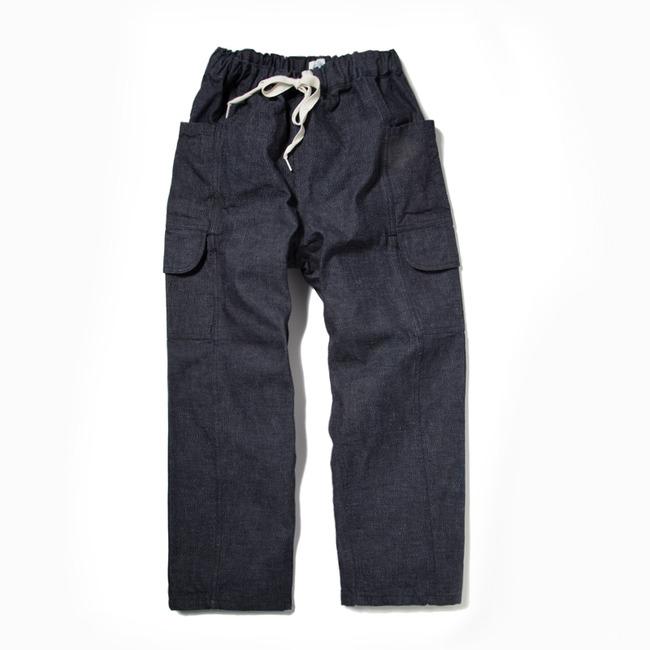 Travel Pants White Oak Denim  MANCAVE ONLY