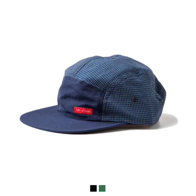 "Nylon Camp Hat Grid ""3 COLOR""Sale Now"