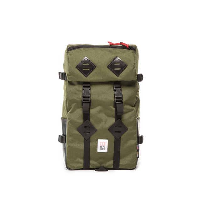 "22L Kletter Sack ""OLIVE/BLACK LAETHER""Sale Now"