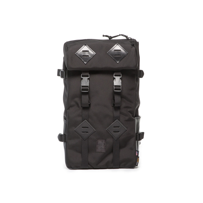 "22L Kletter Sack ""BALLISTIC/BLACK LAETHER""Sale Now"