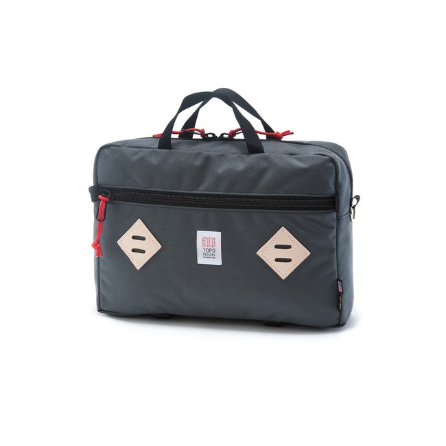 "Mountain Briefcase ""BLACK / CHARCOAL""Sale Now"