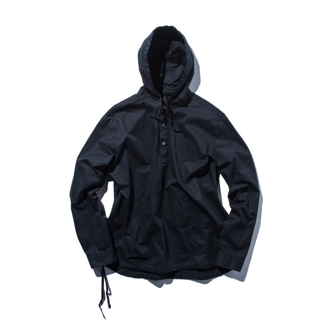 "Pullover Hooded Shirt ""DARK NAVY"""