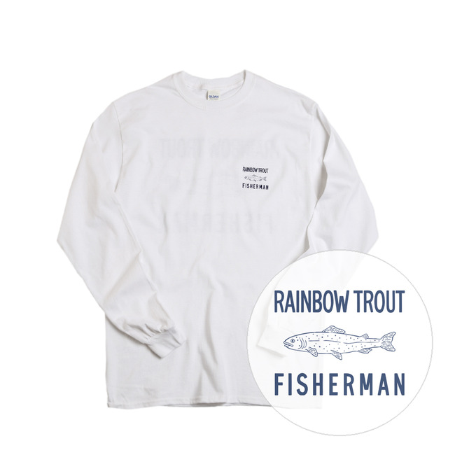 Rainbow Trout Fisherman Tee