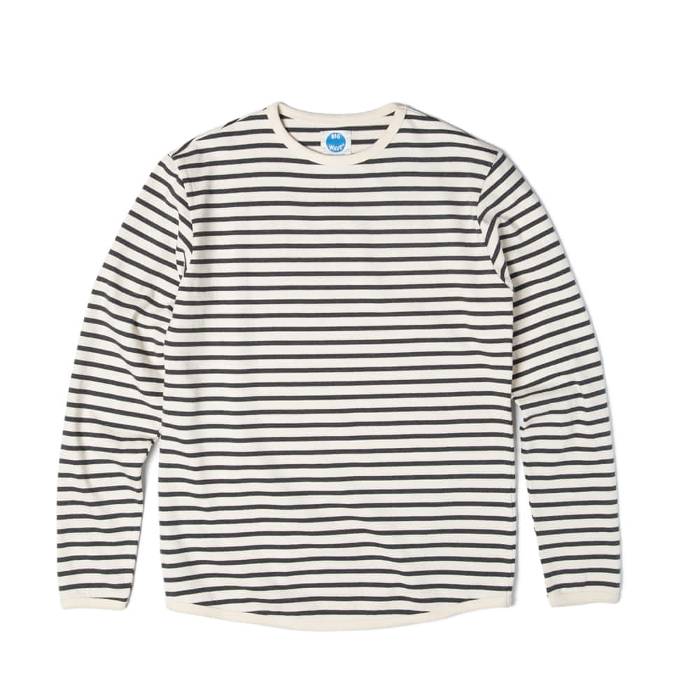 Ocean Stripe Ts 'BLACK'