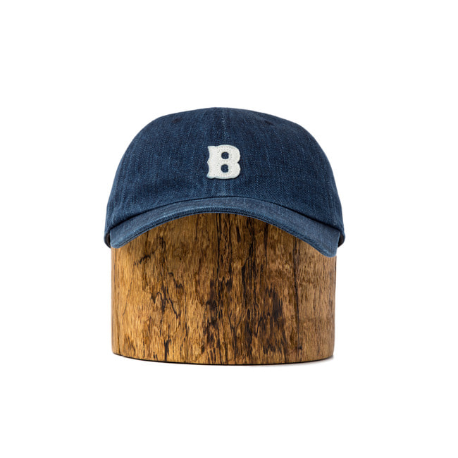 Wash Denim Ball Cap 'B'