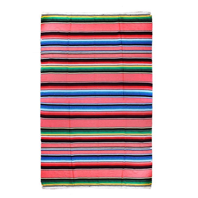 "Cielo Collection Stripe Blanket ""ROSA"""