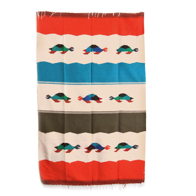 "Tierra Animal Collection Blanket ""TORTUGA SAND"""