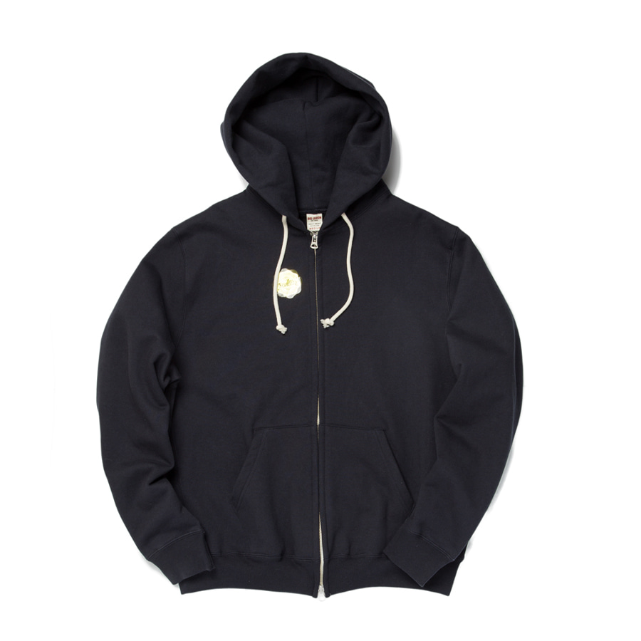 "Sweat Zip Parka ""NAVY"""