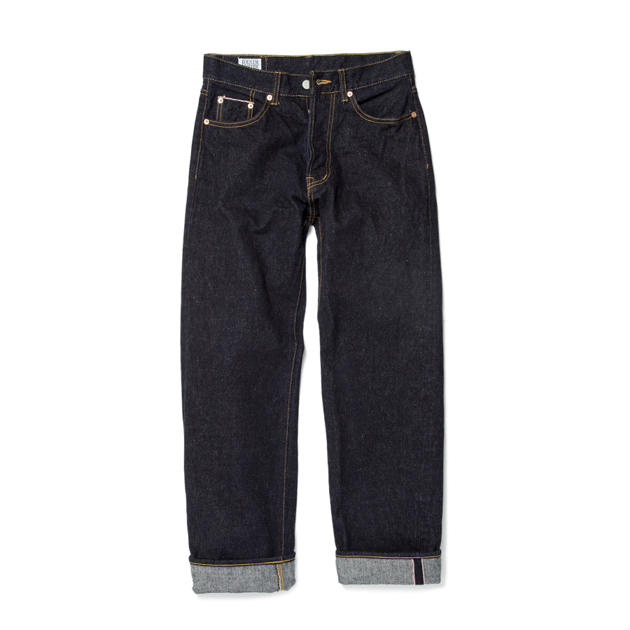 Unsanforrized Heritage Raw Denim 16.5oz