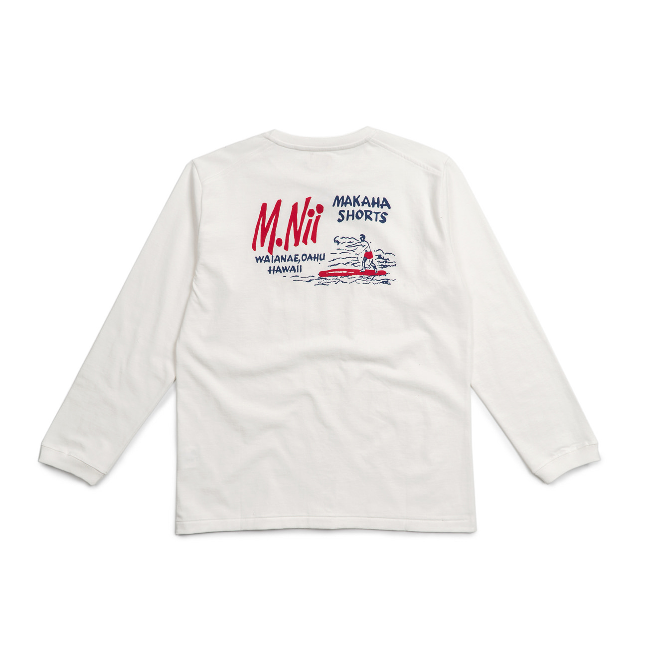"Basic Logo Long Sleeves ""WHITE"""