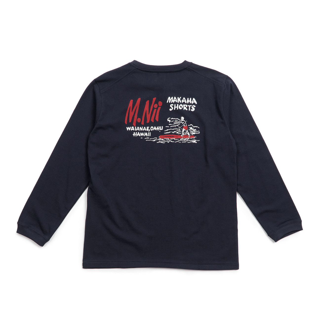 MNii Basic Logo Long Sleeves  Navy