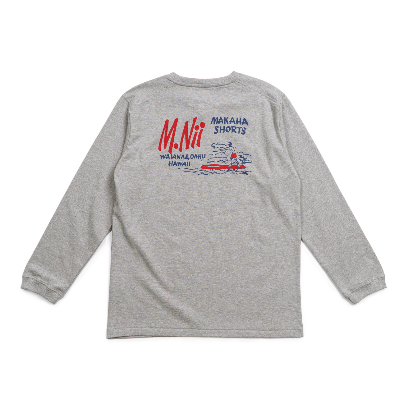 MNII Basic Logo Long Sleeves  Grey
