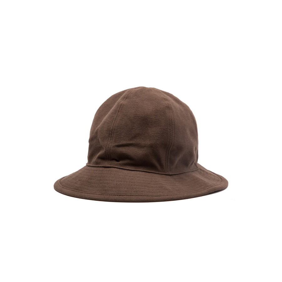 COTTON SUEDE FISHER HAT BROWN