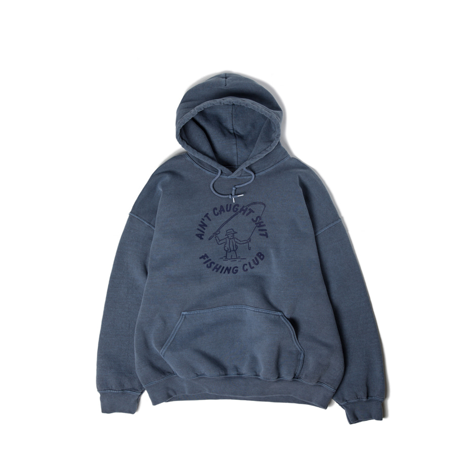Ain't Caught Shit Hoody Special Navy배송가능