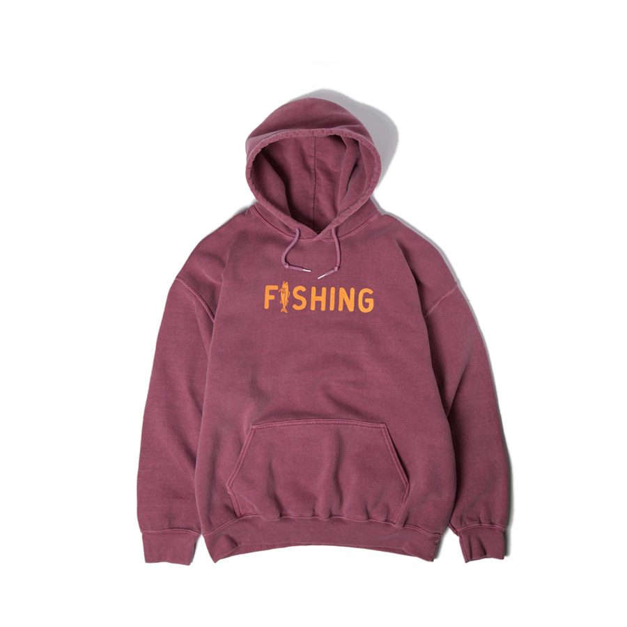 Fishing Hoody Special Burgundy배송가능