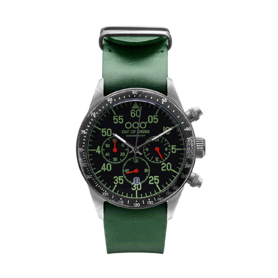 CHRONOGRAPH LIMITED GREEN