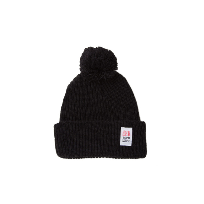"Pom Beanie ""BLACK"" Sale Now"
