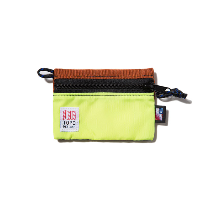 "Accessory Bags Micro ""CLAY/YELLOW"" Sale Now"