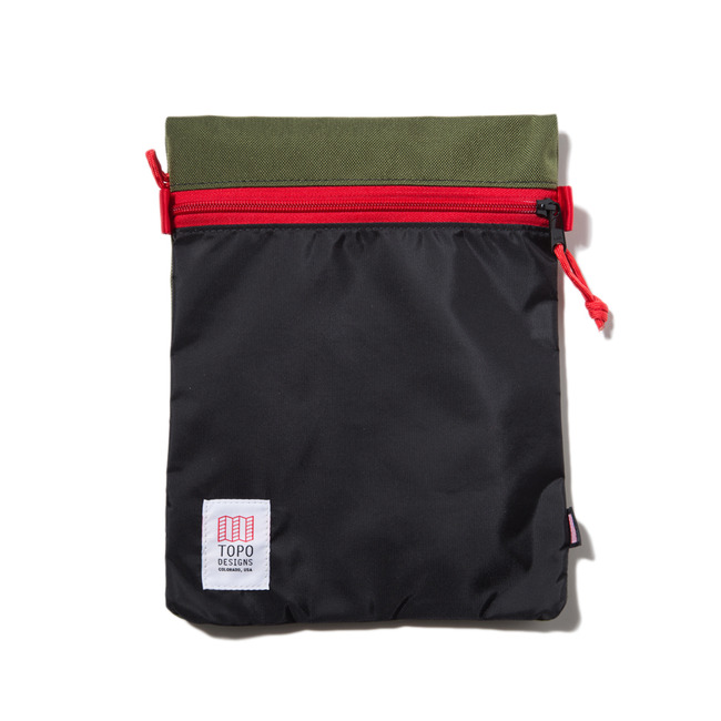 "Accessory Bags Large ""OLIVE/BLACK"" Sale Now"