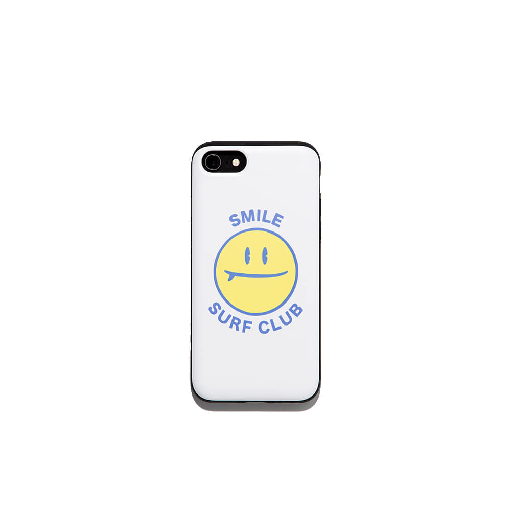 Smile surf club  Iphone case 7/8 7/8+ X 가능 & 카드1장 수납