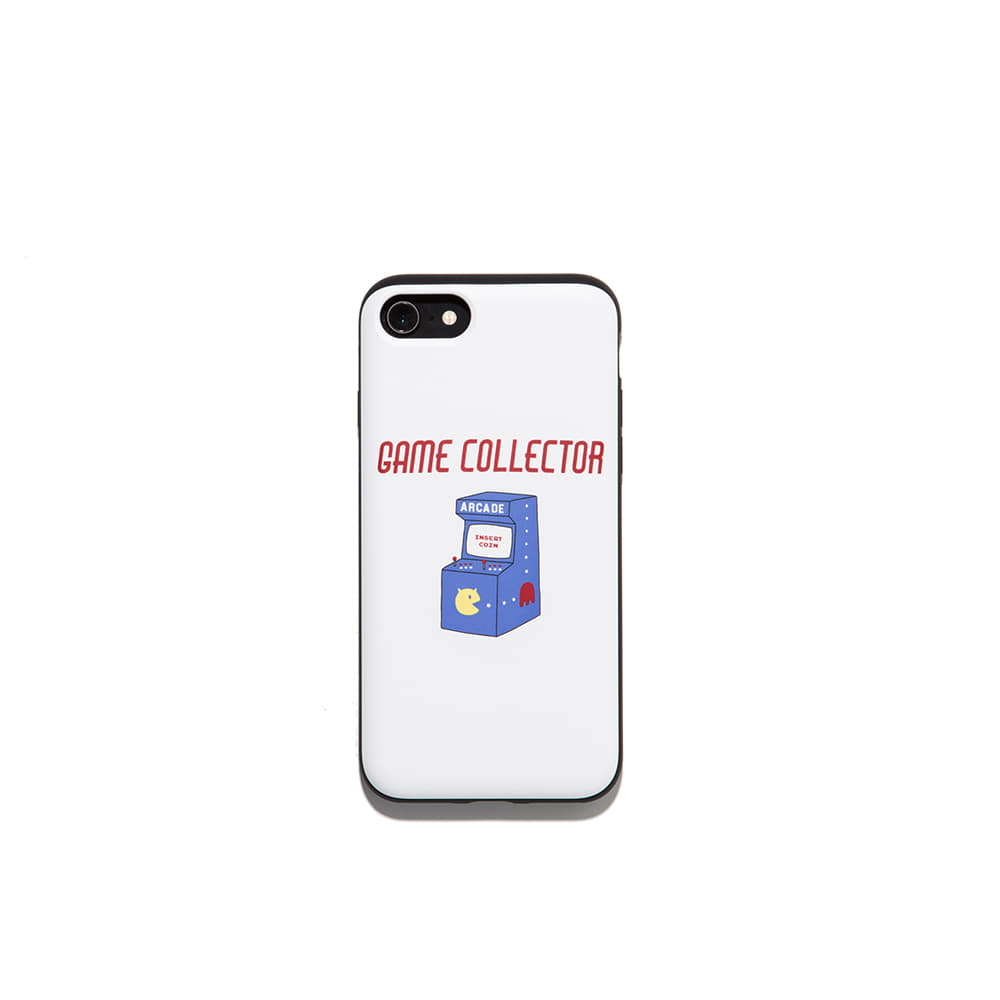 Game collector Iphone Case 7/8 7/8+ X 가능 & 카드1장 수납