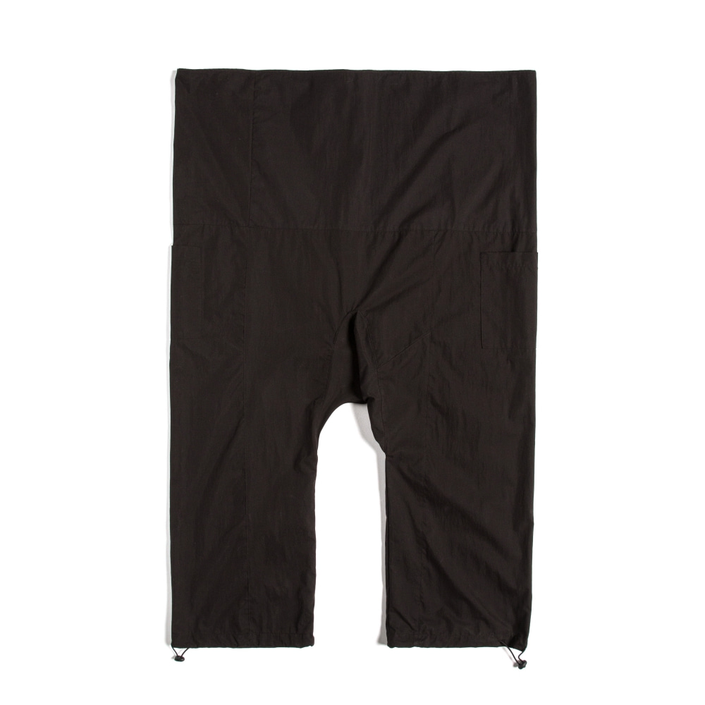 STRING WRAP PANTS BLACK