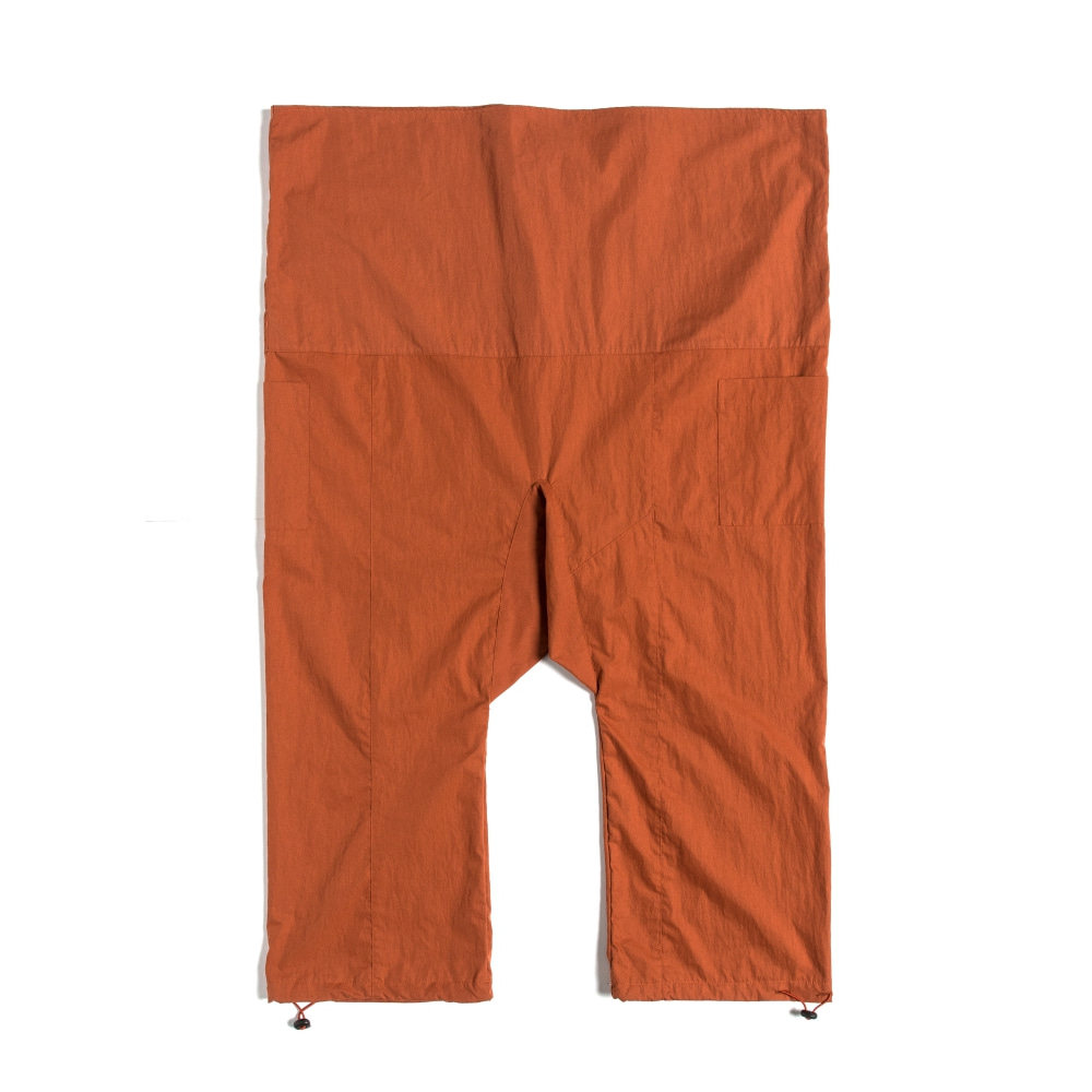 STRING WRAP PANTS BRICK