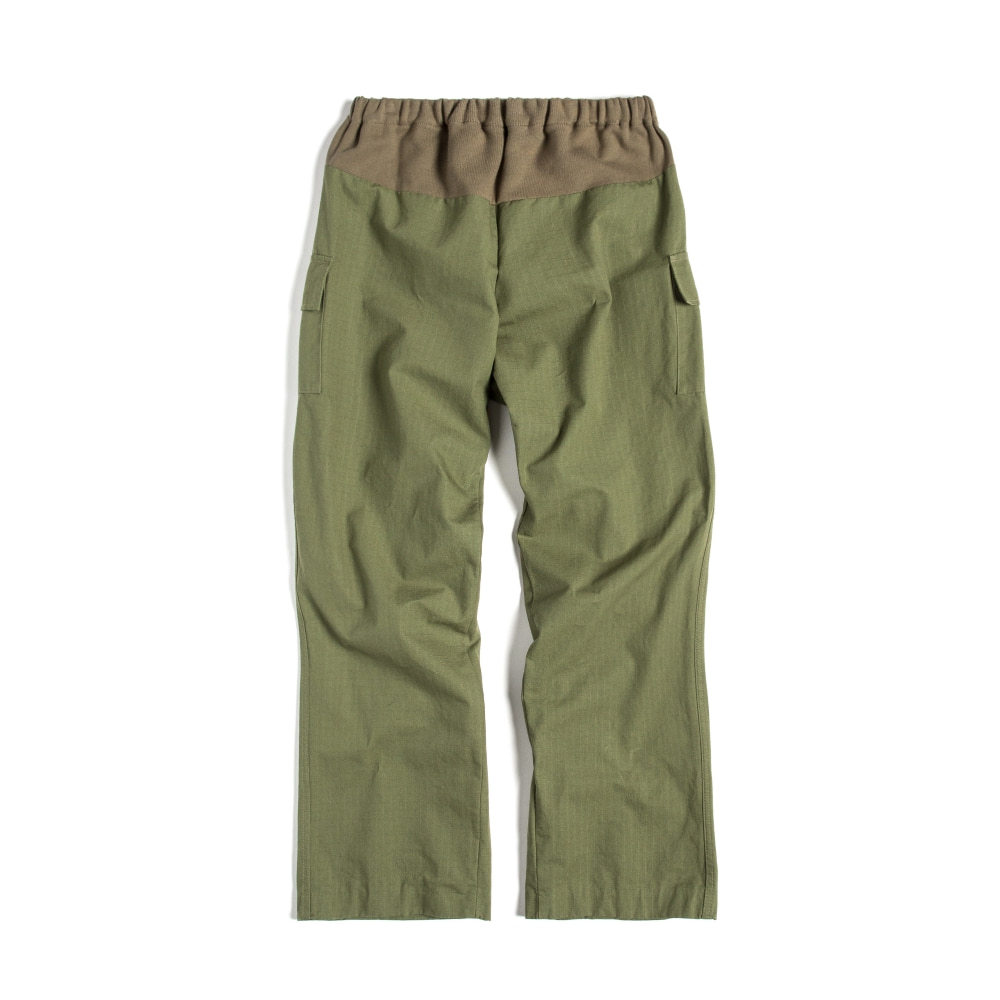 E-BAND PANTS : KHAKI