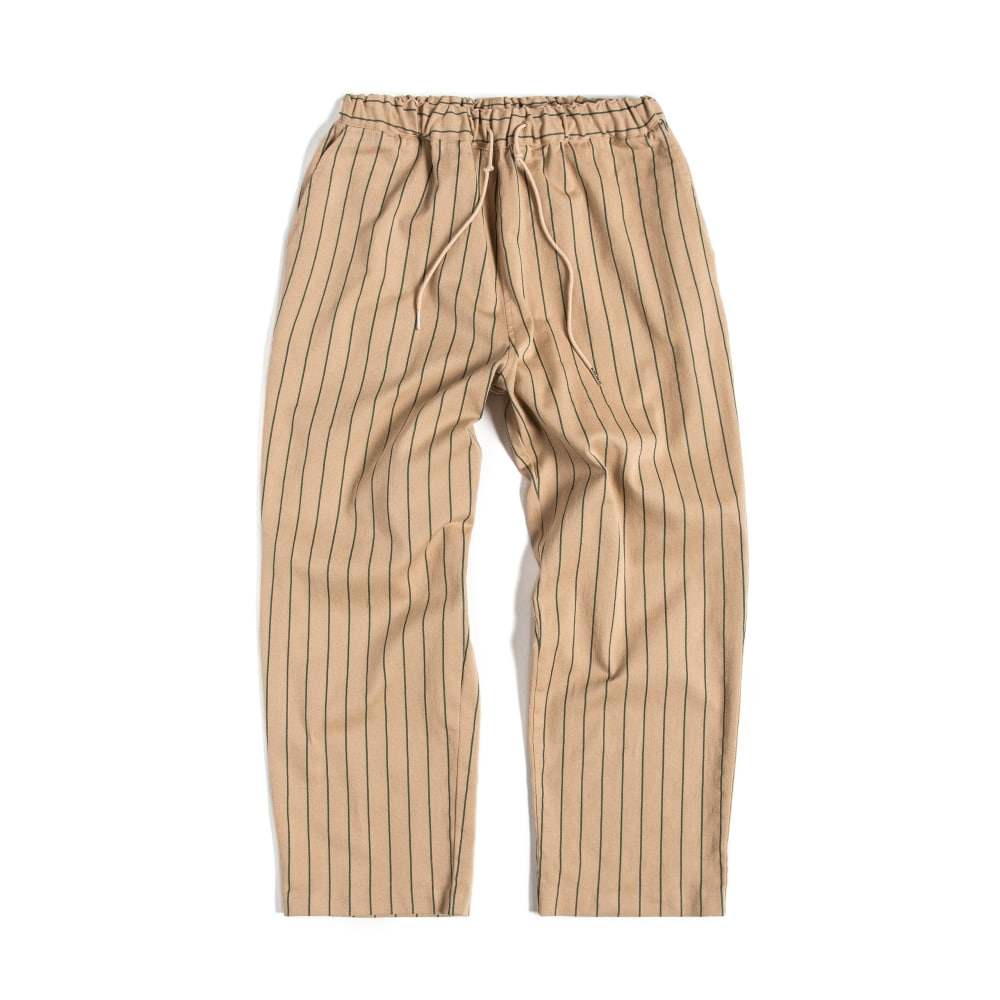 EASY PANTS : STRIPE BEIGE