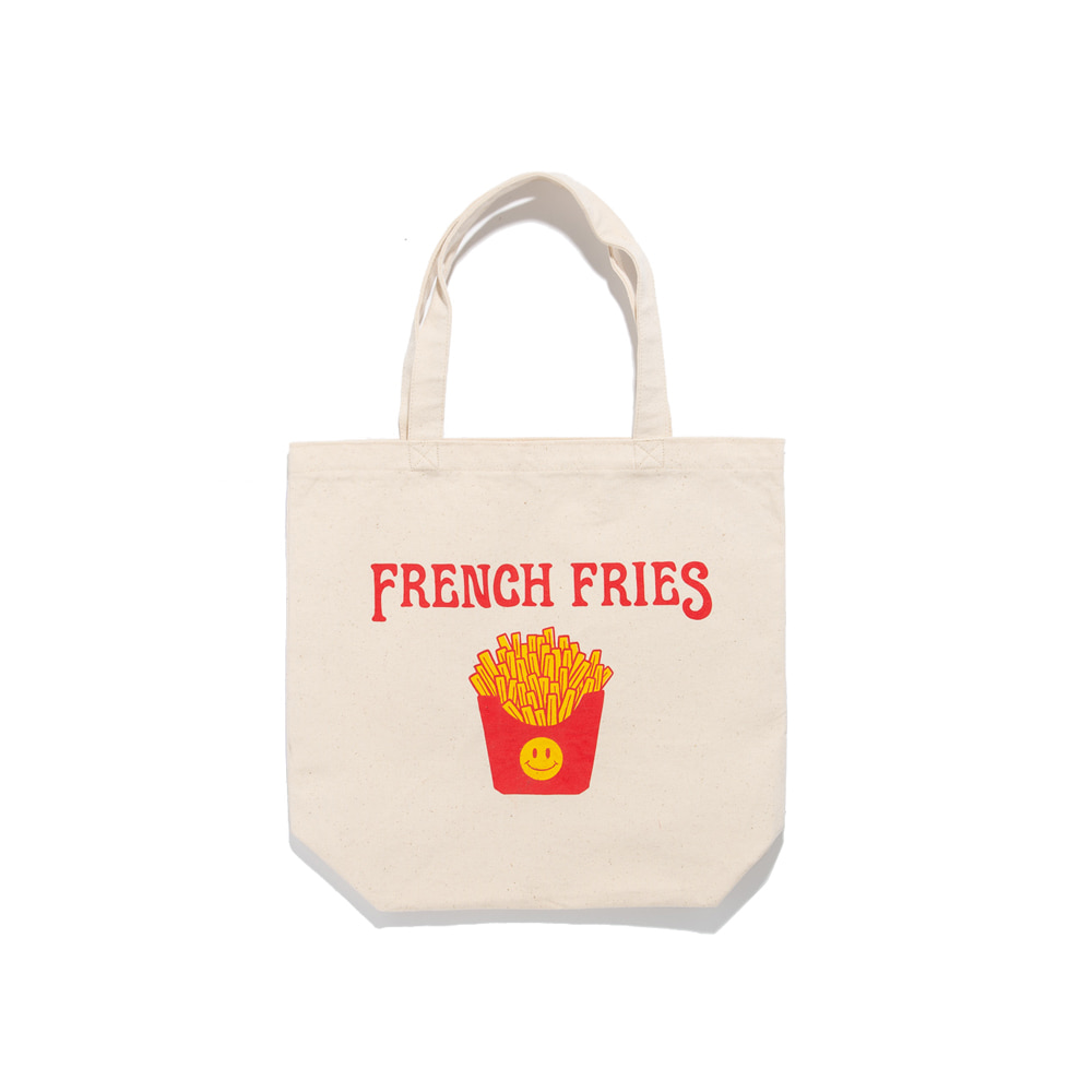 Smile french fries TOTE Mancave exclusive 5월1일 부터 순차배송