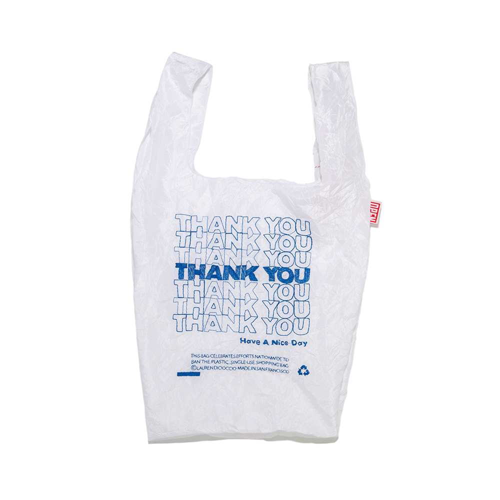 THANK YOU / THANK YOU Tote (Blue)