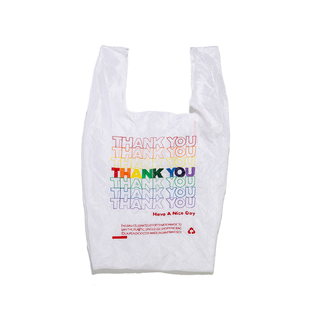 THANK YOU / THANK YOU Tote (Rainbow)