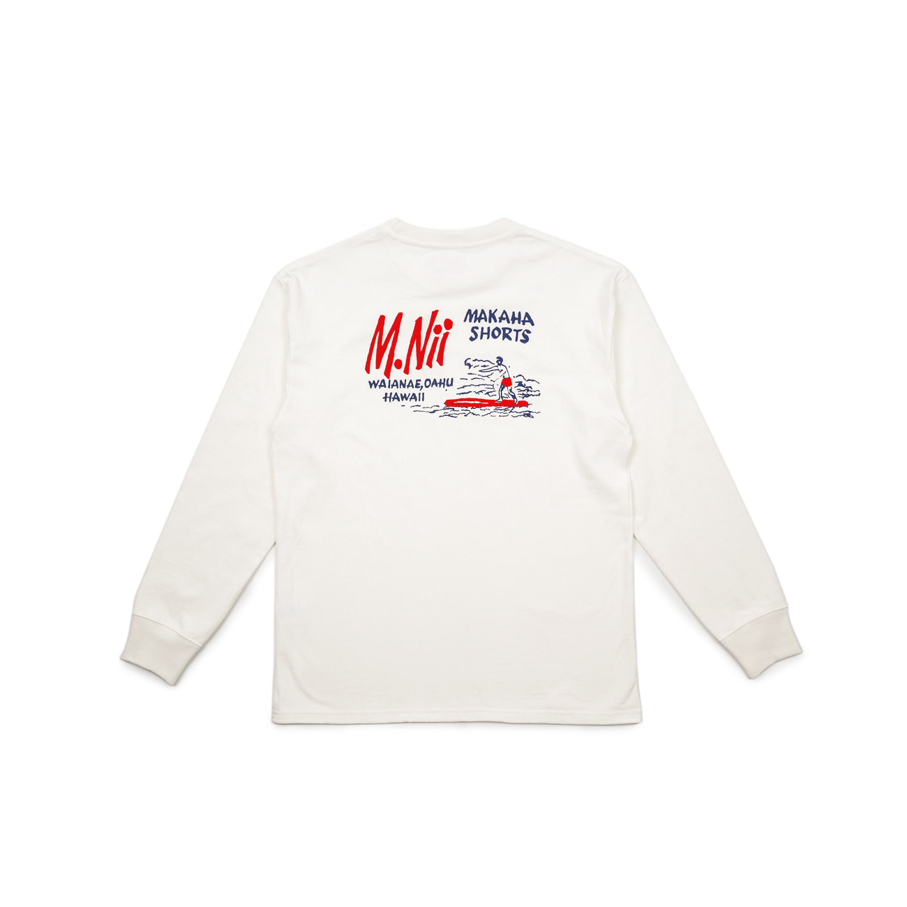 "18FW  Basic Logo Long Sleeve ""White"""