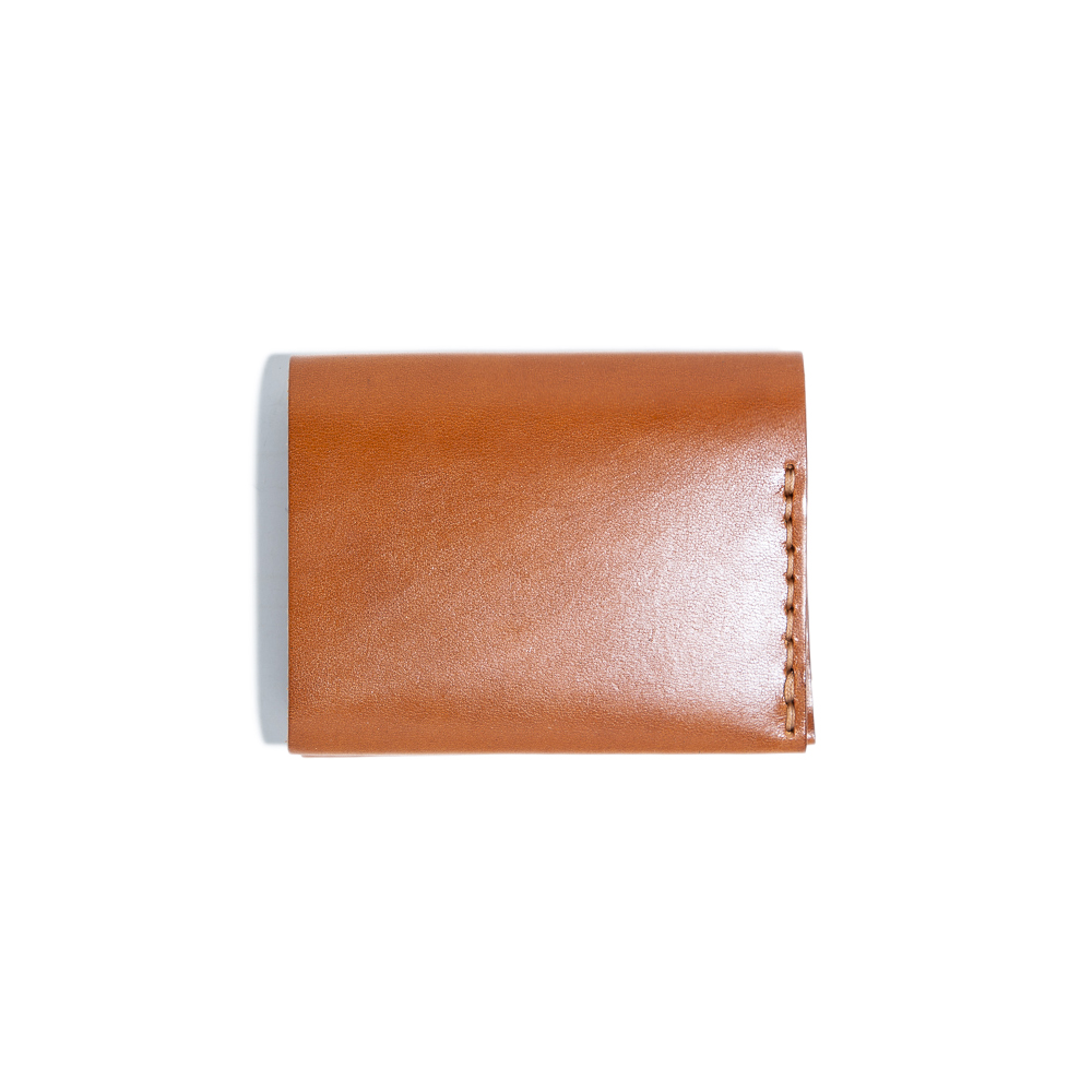 Card Wallet - Cognac