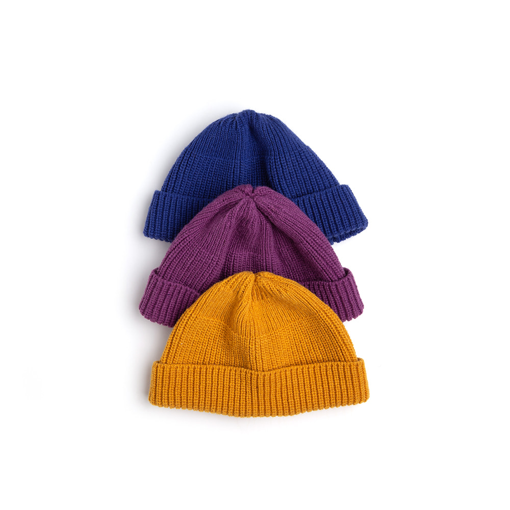 "Lambs-wool Beanie ""3 color""Rinse&co 와의 익스클루시브 컬러 램스울 비니[50% off]"