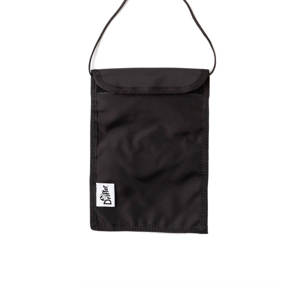 "Neck Pouch ""BLACK"""
