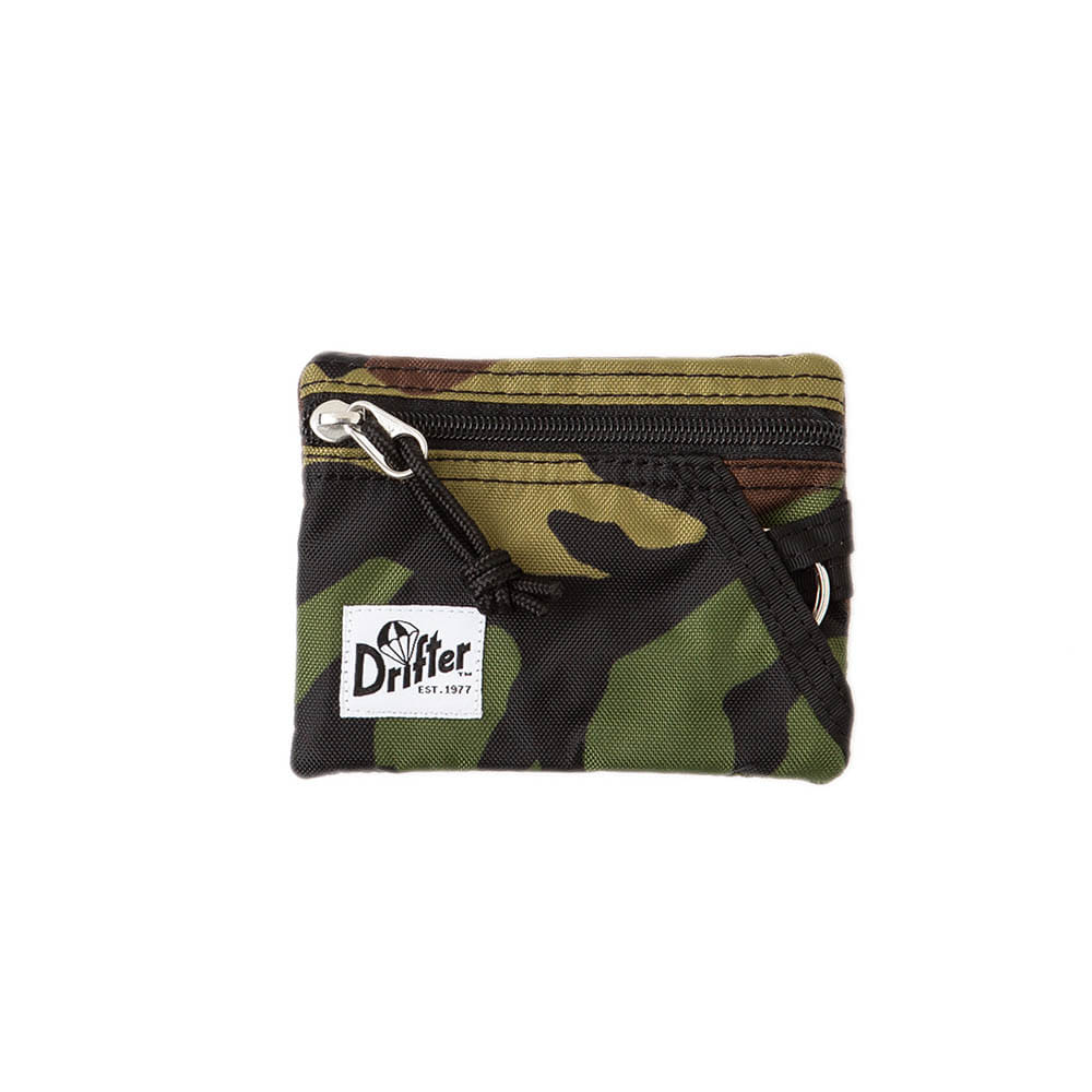 "Key Coin Pouch ""WOODLAND CAMO"""