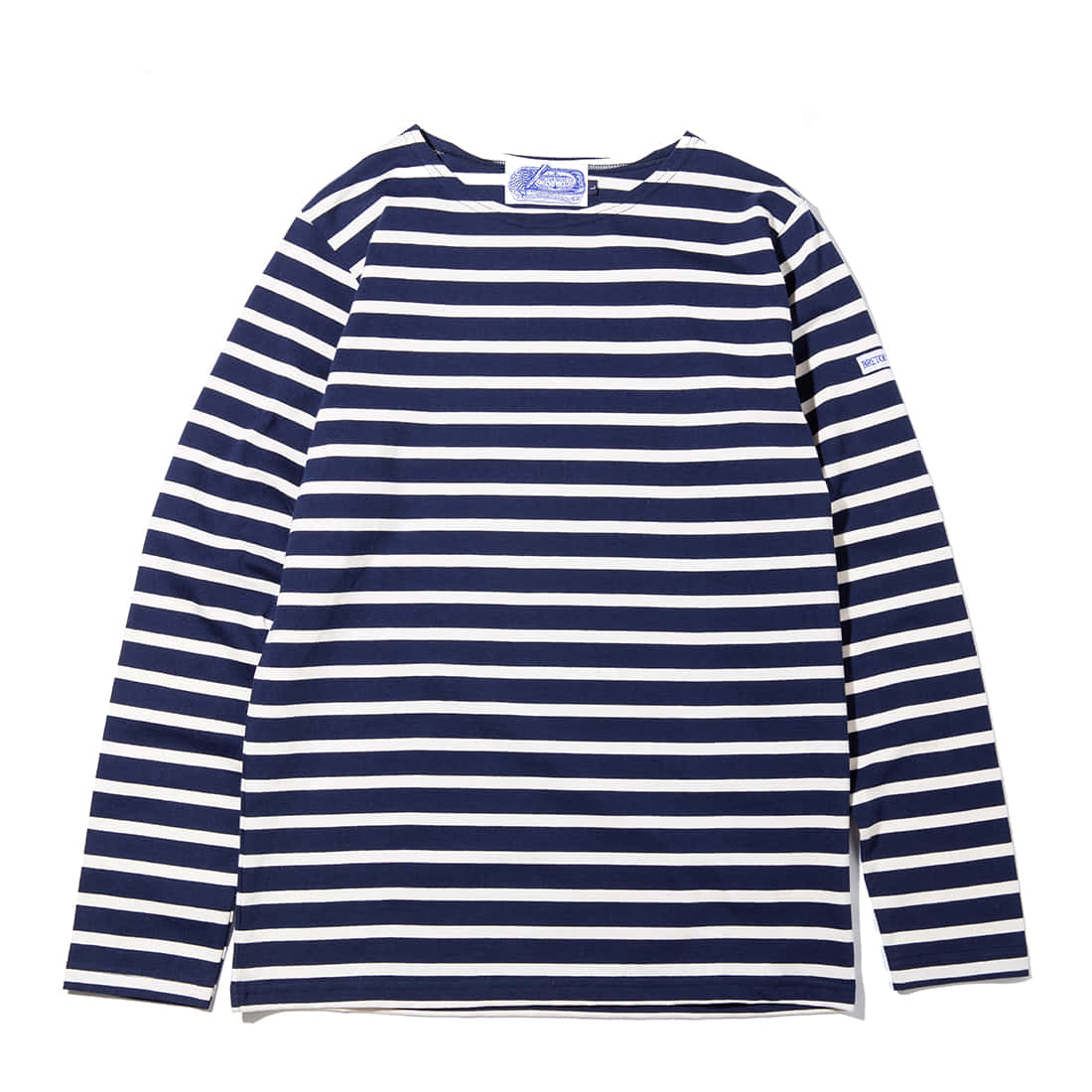 "The Nautique ""NAVY/ECRU CLASSIC BRETON"""