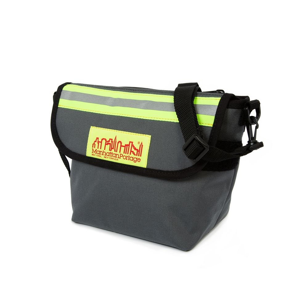 "College Place Handlebar Bag ""GREY"""