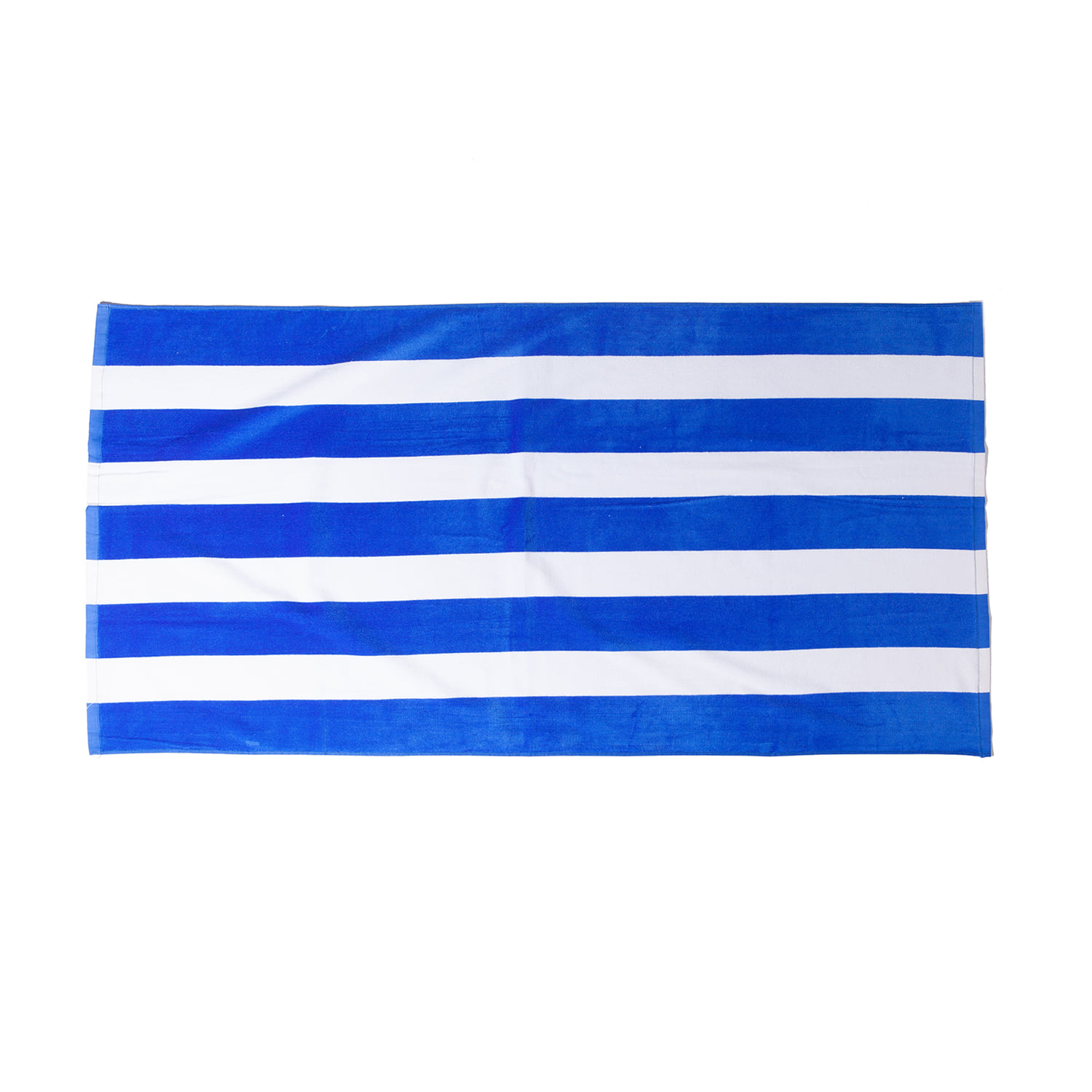"Cabana Stripe Velour Towel ""ROYAL"""