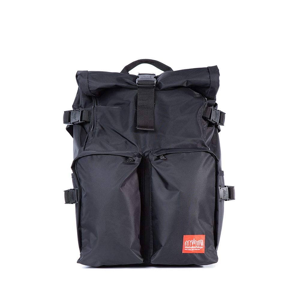 "Flight Nylon Focus Backpack ""BLACK"""