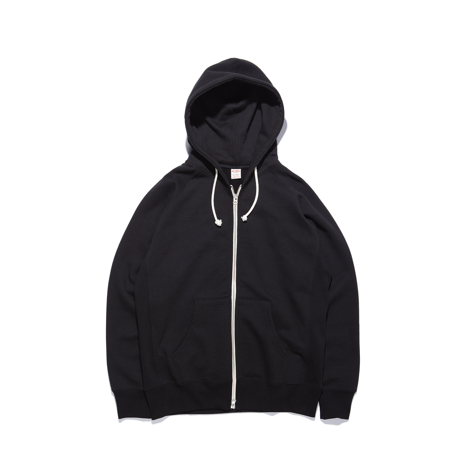 "Let Us Sweat Zip Up Hoody ""BLACK"""