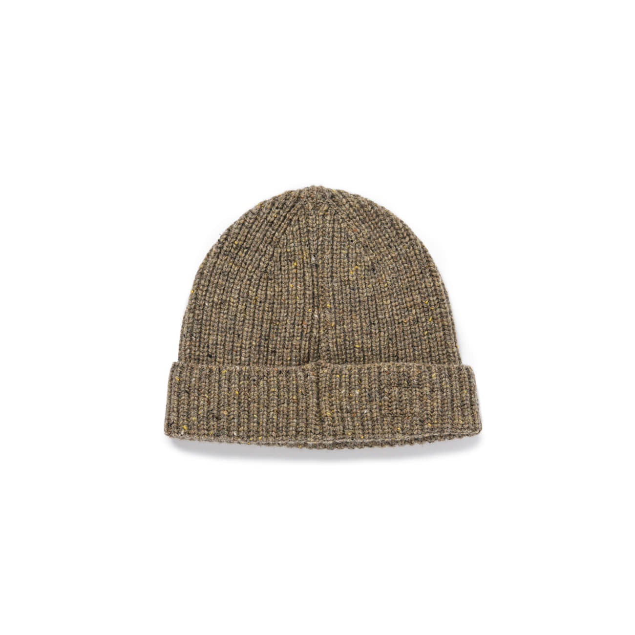 "Warm Tone Wool Beanie ""BROWN"""